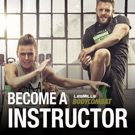 Become a Les Mills Bodycombat / Bodypump Instructor at Fort Myers