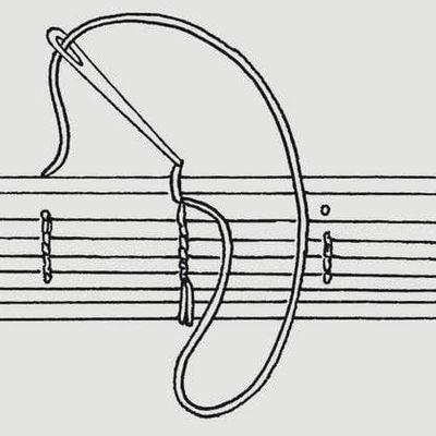 Coptic Stitch Bookbinding 1 Needle Variation with Ali Herrmann