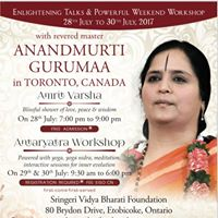 Enlightening Talk in Toronto Canada
