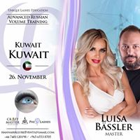 Unique Lashes Education in KUWEIT - Advanced Russian Volume Training