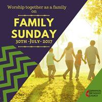Family Morning Service