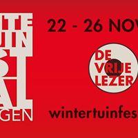 Wintertuinfestival Boekpresentatie Joris van Casteren