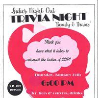 Ladies Night Out - Trivia Night