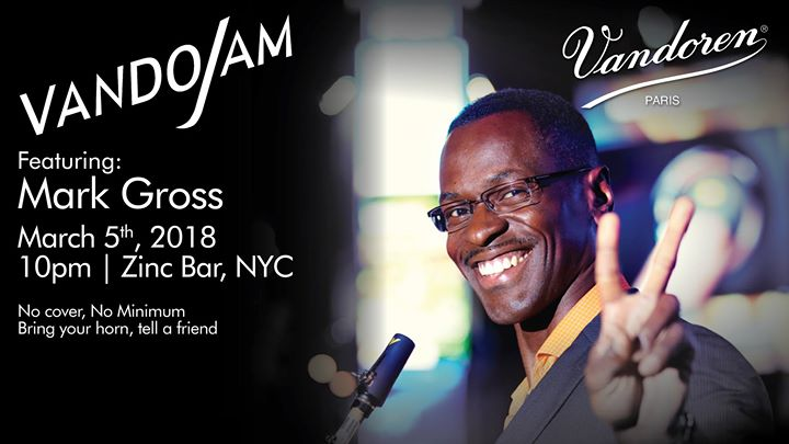 The VandoJam - March 2018 Featuring Mark Gross