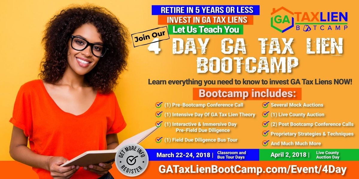 4 Day GA Tax Lien Bootcamp