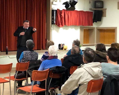 Presentation on the New Evangelization at St. Vincent de Paul
