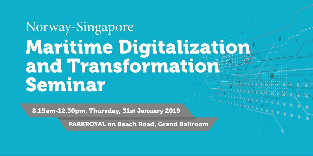 Norway-Singapore Maritime Digitalization and Transformation Seminar