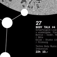 Body Talk 4 w Schwefelgelb Live (Allemagne)