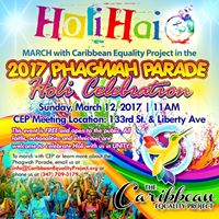 Phagwah Parade 2018 - March with Caribbean Equality Project