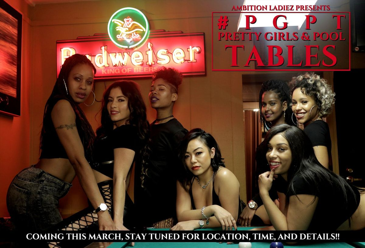 PGPT Pretty Girls & Pool Tables