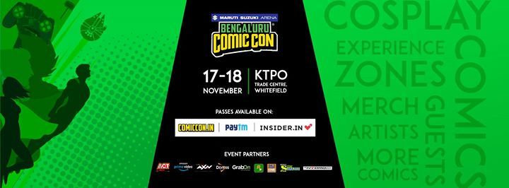 Bengaluru Comic Con 2018