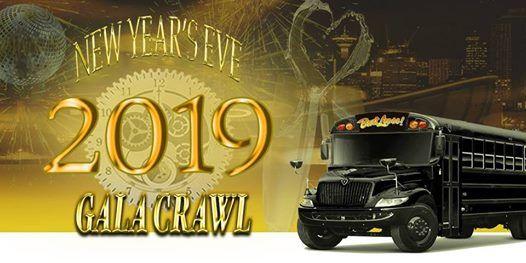 Bust Loose New Years Eve Gala Club Crawl