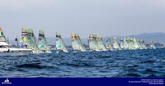 Mackay Boats 49er49er FX Nationals 2019
