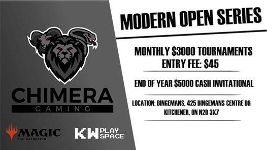 Modern Open Series Jan 27th