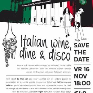 Wine dine en disco