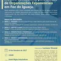 Workshop Modelo Educacional e Organizaes Exponenciais