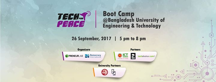 Tech For Peace bootcamp at BUET