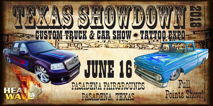 Texas Showdown At The Pasadena Convention Center And Municipal - Pasadena car show