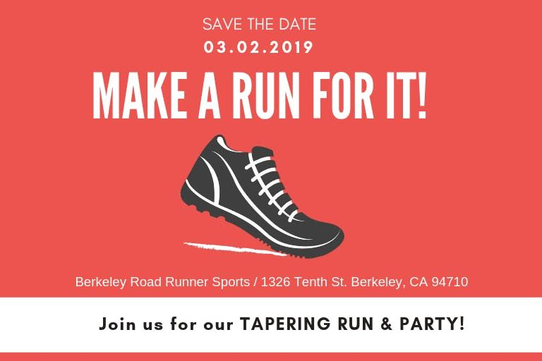 Team AHSome Tapering Run  Party
