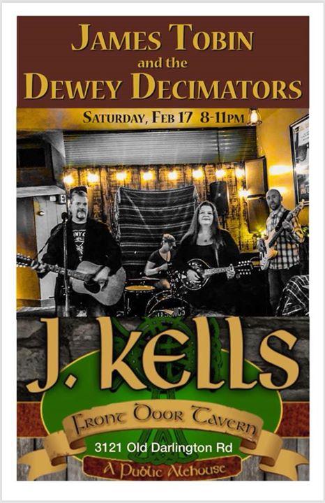 James Tobin And The Dewey Decimators At J. Kellu0027s Front Door Tavern