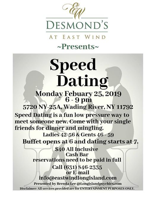from Diego speed dating events hudson valley