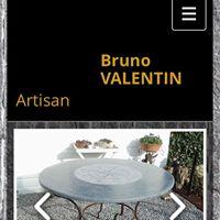 Expo de tables en pierre bleue au Domaine de Chevetogne