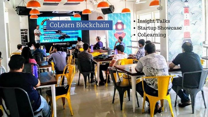 CoLearn Blockchain Bangalore Insight Talks  Startup Showcase