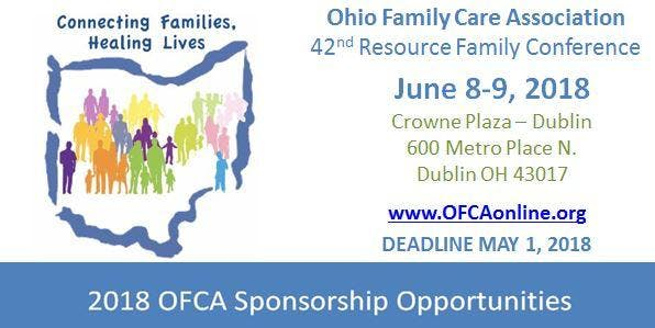 42nd Annual OFCA Conference - Sponsorship Opportunities