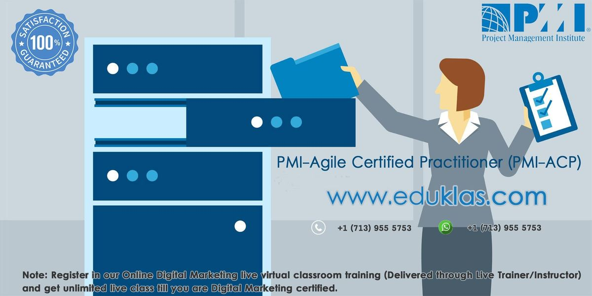 pmi acp certification class | pmi acp training | pmi acp exam prep ...