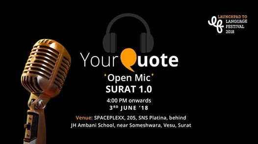 YourQuote Open Mic Surat 1.0