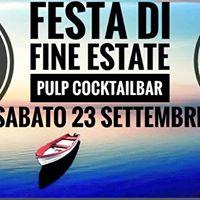 FESTA DI FINE ESTATE AT PULP