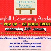 Burghill Community Academy &quotPop Up&quot Childrens 2 Book Event