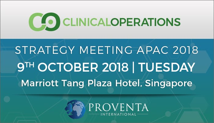 Clinical Operations Strategy Meeting APAC 2018