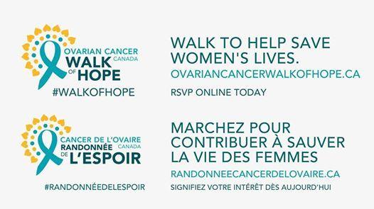Ottawa/ Gatineau - 2019 Ovarian Cancer Canada Walk of Hope