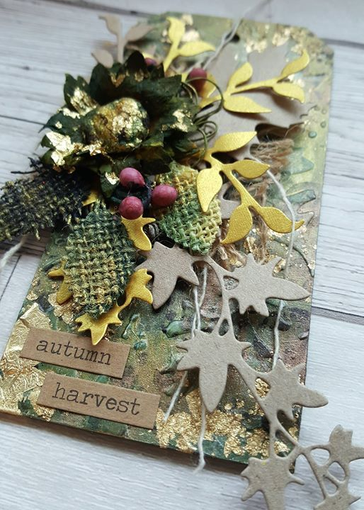 Monthly Tag Class - September Class - Autumn Gold