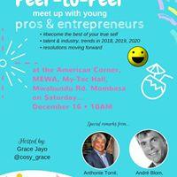 Mombasas Peer-to-Peer meet up with Pros &amp Entrepreneurs