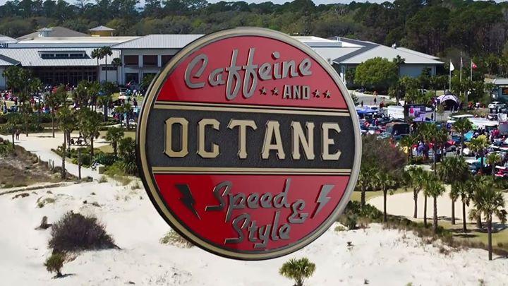Caffeine Octane At The Beach Car Show At Jekyll Island Convention - Jekyll island car show
