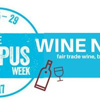 Fair Trade Wine Night &amp Seminar