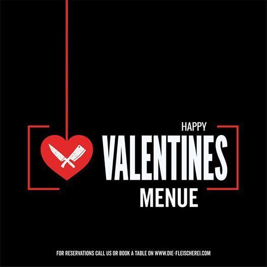 Valentines Menue