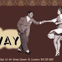 Swing at Sway - Monday 25th September
