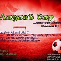 August Cup 2k17