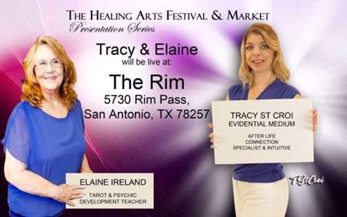 Mediumship Demo with Tracy and Elaine at Hilton Garden Inn