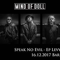 Mind Of Doll Speak No Evil - EP release party