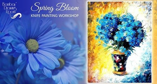 Spring Bloom Knife Painting Workshop Powai