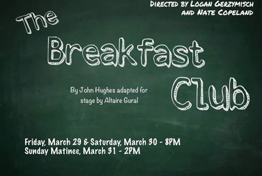 The Breakfast Club at Lindsay Little Theatre