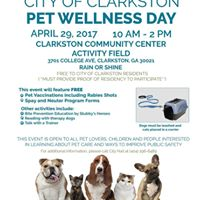 City of Clarkston Pet Wellness Day
