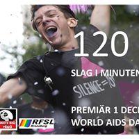 120 slag i minuten filmpremir World AIDS Day