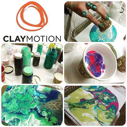 Acrylic Pouring - Intermediate Workshop
