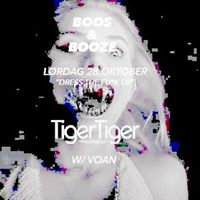 TIGER TIGER  Halloween - Boos and Booze