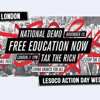 LeSoCo Free Ed demo mobilising